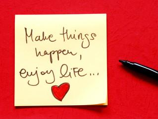 motivational message make things happen