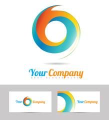 Corporate business logo vector