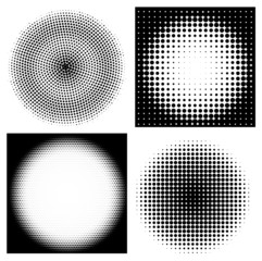 Collection of halftone patterns