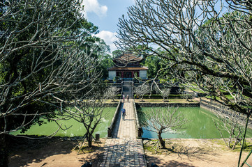Tomba Minh Mang, Hue, ietnam