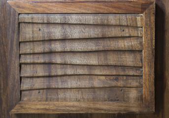 Reja de madera