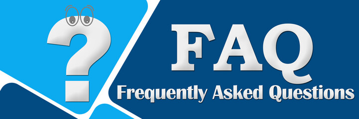 FAQ - Frequently Asked Questions Two Blue Squares