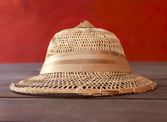 A Bamboo hat