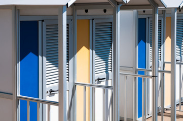 Changing Room on the Beach
