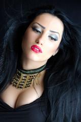 Glamorous Brunette Woman