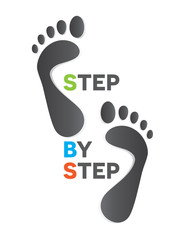 STEP BY STEP FEET