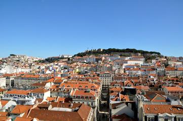 Lissabon mit Burganlage