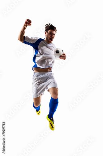 Zdjęcia na płótnie, fototapety, obrazy : soccer player in action