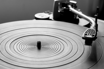 Odl fashioned turntable