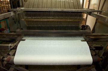 Webstuhl zur Herstellung von Seide