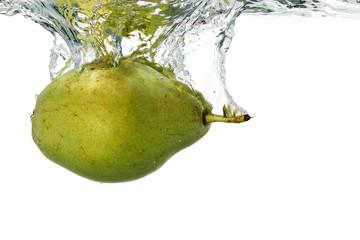 pear in water