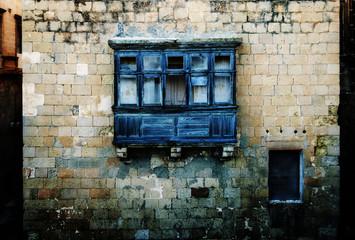 Old rickety Maltese Balcony