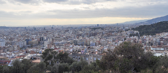 View of Barcelona