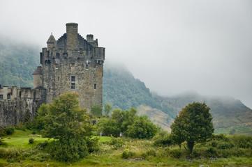 View of Eileen Donan Castle, Scotland