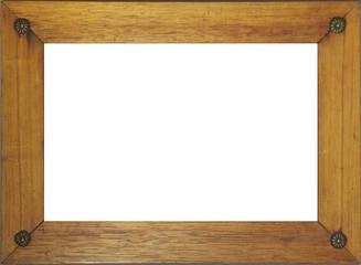 Antik Fotorahmen aus Holz