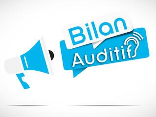 mégaphone : bilan auditif
