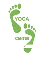 yoga fOOT STEPS