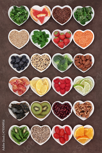 Staande foto Assortiment Diet Detox Food