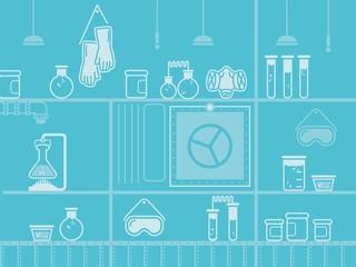 laboratory background