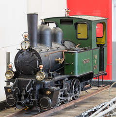 Dampflokomotive im Verkehrshaus
