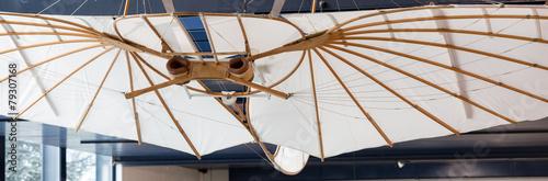 Leinwandbild Motiv Flügel Verkehrshaus