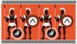 Ancient Greek Warriors - 79308528