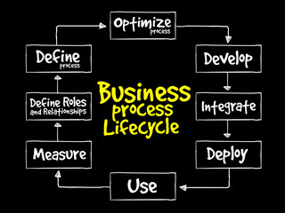 Business Process Lifecycle, business concept