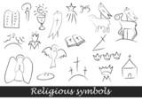 Fototapety Religious symbols 2