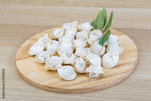 Fototapeta Raw dumplings