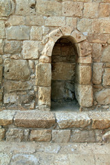 Ruins of Avdat - ancient town founded  by Nabataeans in Negev