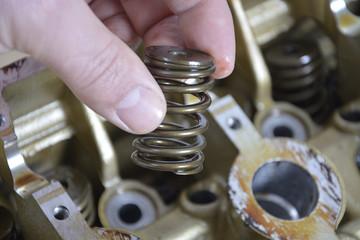 engine parts spring