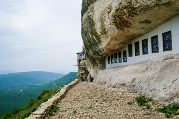 Svyato - Blagoveschensky cave men's monastery in Crimea