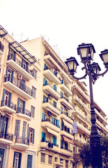 Residential building in Thessaloniki, Greese