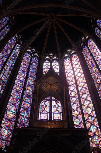 Inside the Sainte-Chapelle