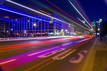 Lichtmalerei, Bus