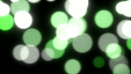 Falling lights sparks slow motion defocused abstract background