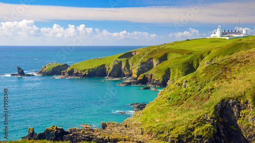 Foto op Canvas Kust Cornwall England