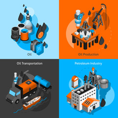 Petroleum Isometric Set