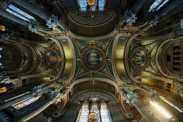 Basilique de Fourvière à Lyon