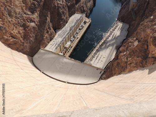Spoed canvasdoek 2cm dik Dam Hoover Dam