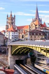 Pont Bessières à Lausanne