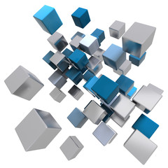 Moving cube