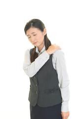 肩痛を訴えるOL