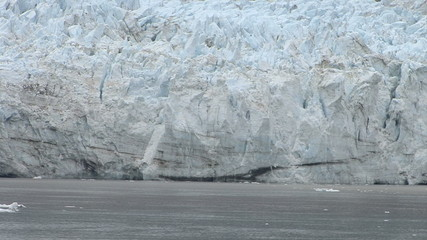 USA -Alaska -Margerie Glacier With The Backdrop Of Grand Pacific