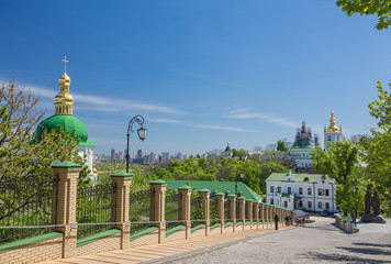 Church of famous Kiev Pechersk Lavra Monastery