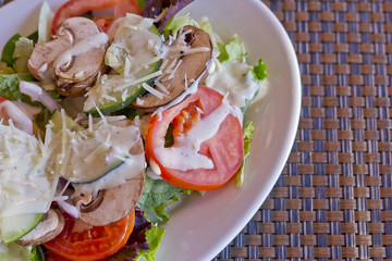 Vegetable Salad Ranch