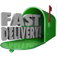 Fast Delivery Mailbox Special Quick Expedited Mail Service