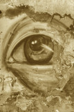 The eye street wall art vintage - 79327367