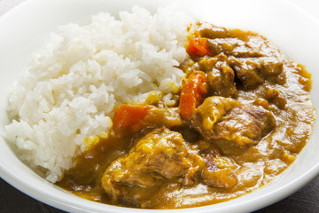 ビーフカレー 日本風 Beef curry Japanese style