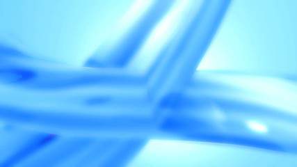 Blue white abstract background loop defocused stylish backdrop